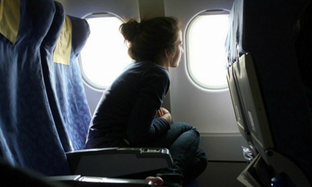 Сексуальные домогательства самолете