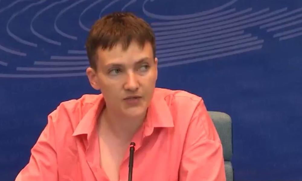 Савченко назвала Россию вылезающим из тайги медведем, которого надо дрессировать