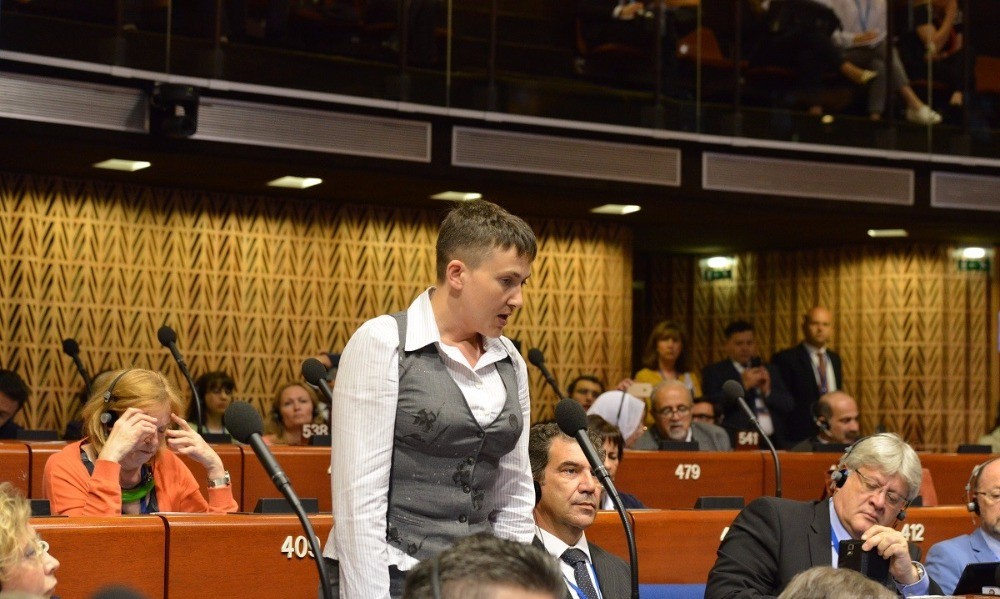 Савченко неожиданно озаботилась