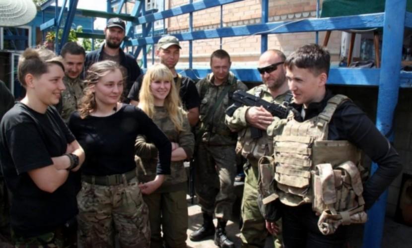 Савченко на встрече с Ярошем предложила ведение диверсионной войны в Донбассе