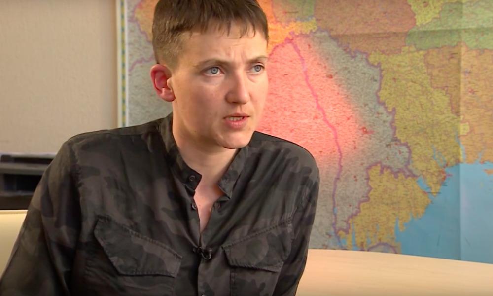 Савченко неожиданно выразила желание сотрудничать с российской оппозицией