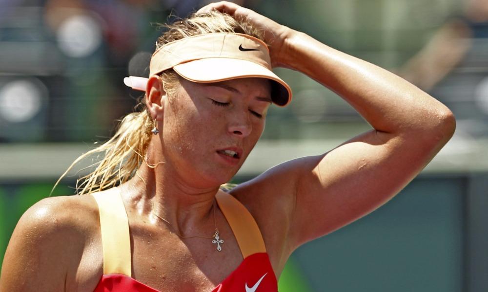 Марию Шарапову на два года отлучили от большого спорта и лишили шанса сыграть на Играх в Рио