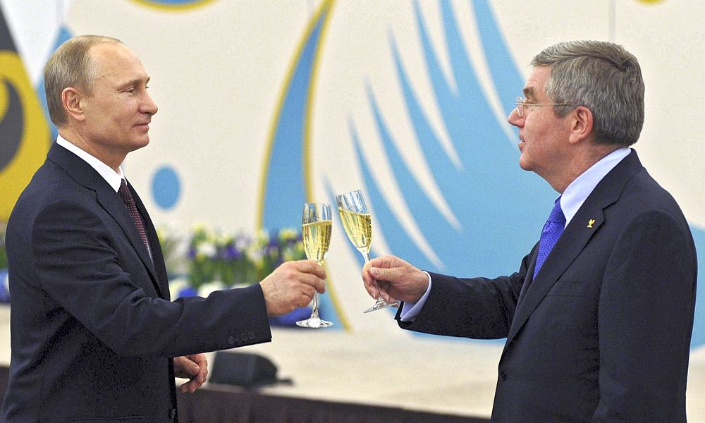 Вопрос об участии сборной России в Играх в Рио решится после консультаций Путина и Баха, - Der Spiegel