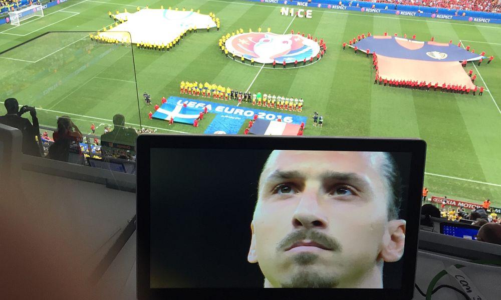 Футбольная сборная Бельгии отправила Ибрагимовича смотреть Евро-2016 по телевизору
