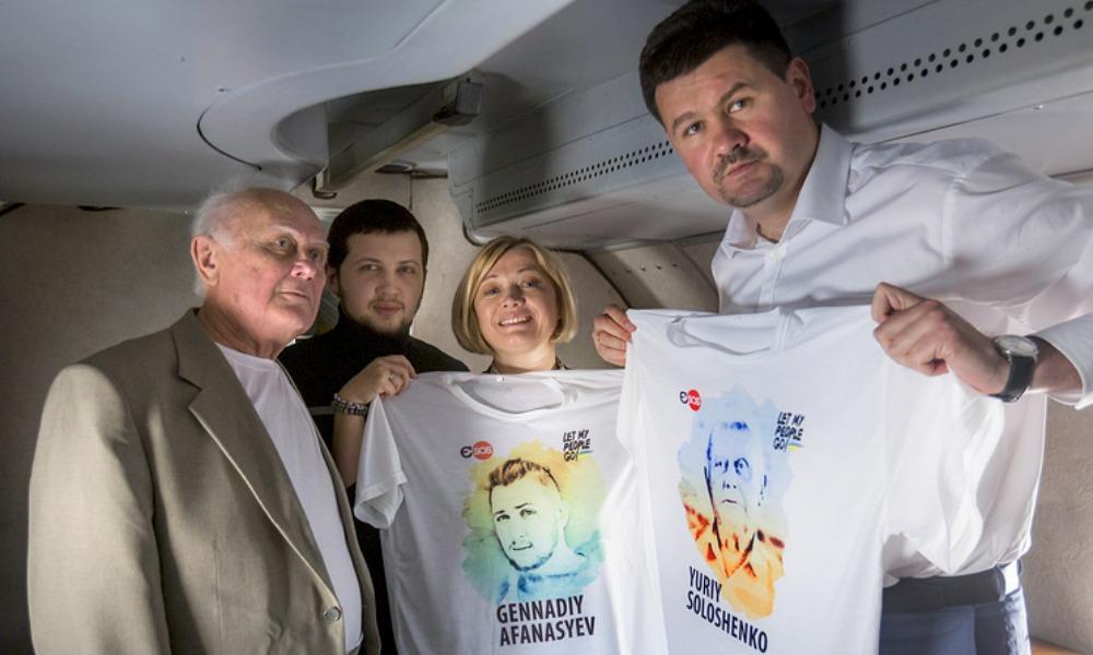 Путин двумя указами помиловал осужденных в России украинцев Солошенко и Афанасьева