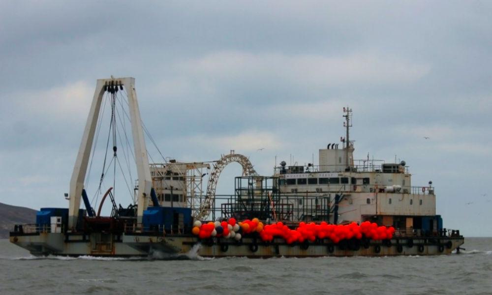 Украина обвинила китайское судно в нарушении «интересов» после работ в Крыму