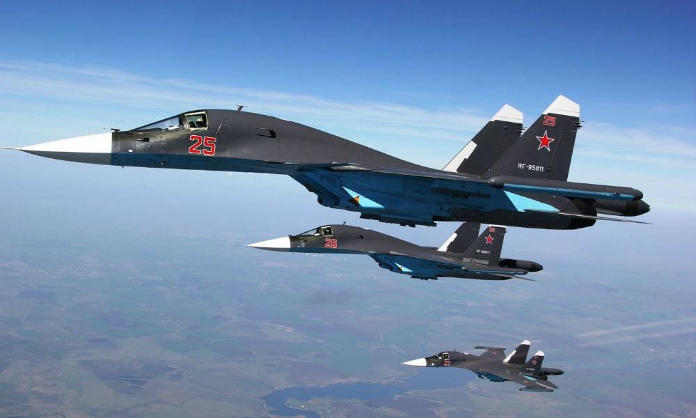 Российские боевые самолеты уничтожили четыре нефтяных объекта ИГ в Сирии