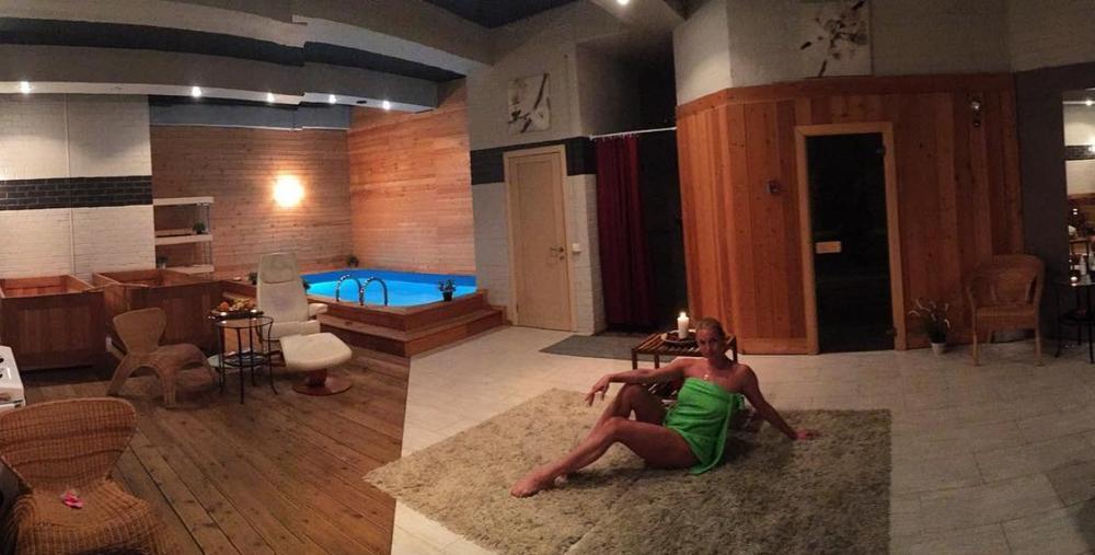 Волочкова обнародовала снимок изяпонской бани