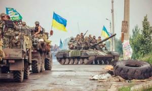 Украинская армия прекратила наступление на Дебальцево после переговоров с представителями России