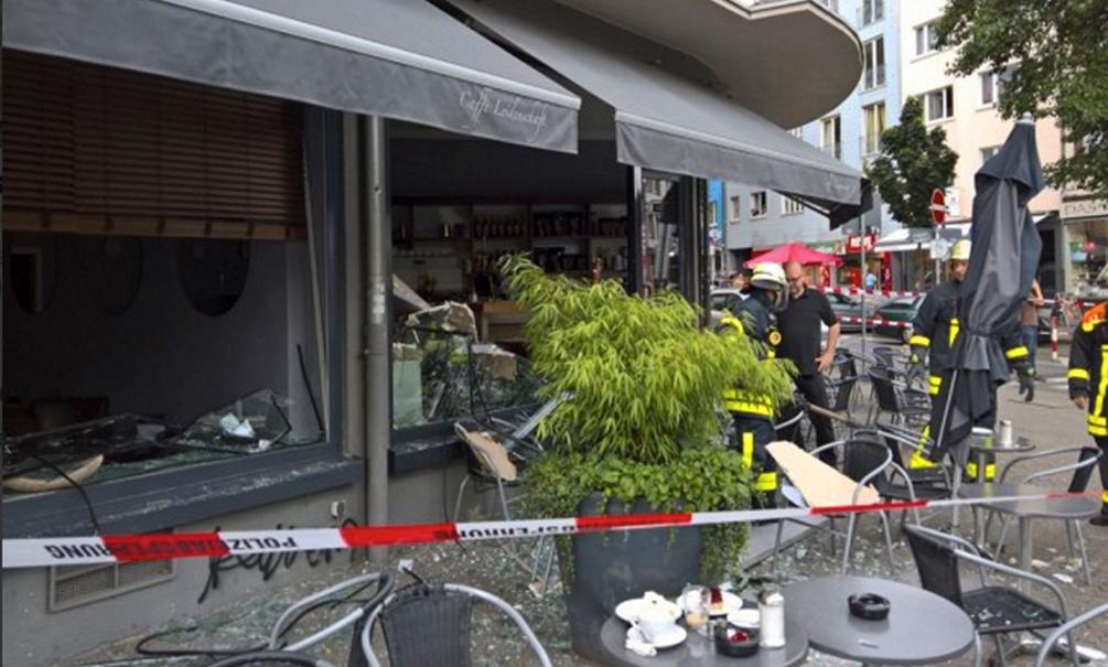 В кафе в центральной части Германии прогремел взрыв, - есть пострадавшие