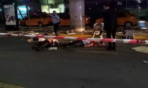 В Интернете появилось первое видео взрыва в аэропорту Стамбула