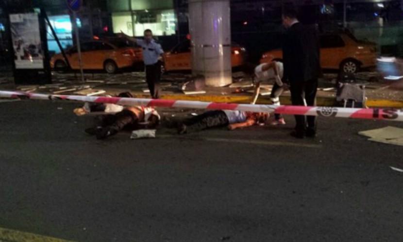Мощнейший взрыв ваэропорту Стамбула попал навидео