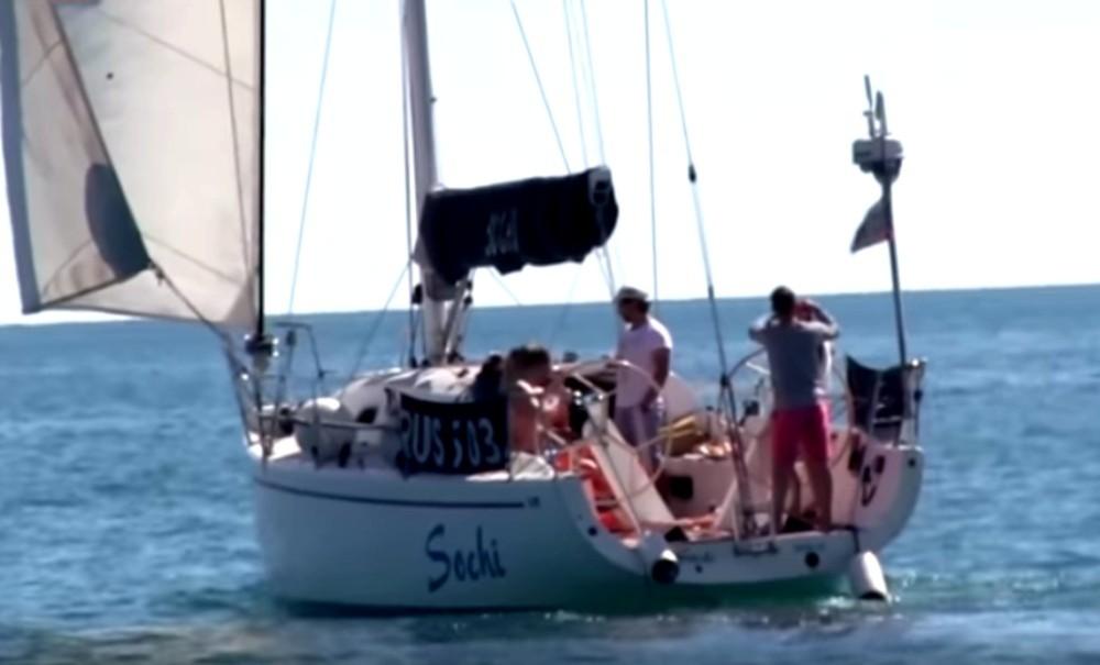 Отдых главы Росимущества Пристанскова с актрисой Песковой на яхте попал на видео