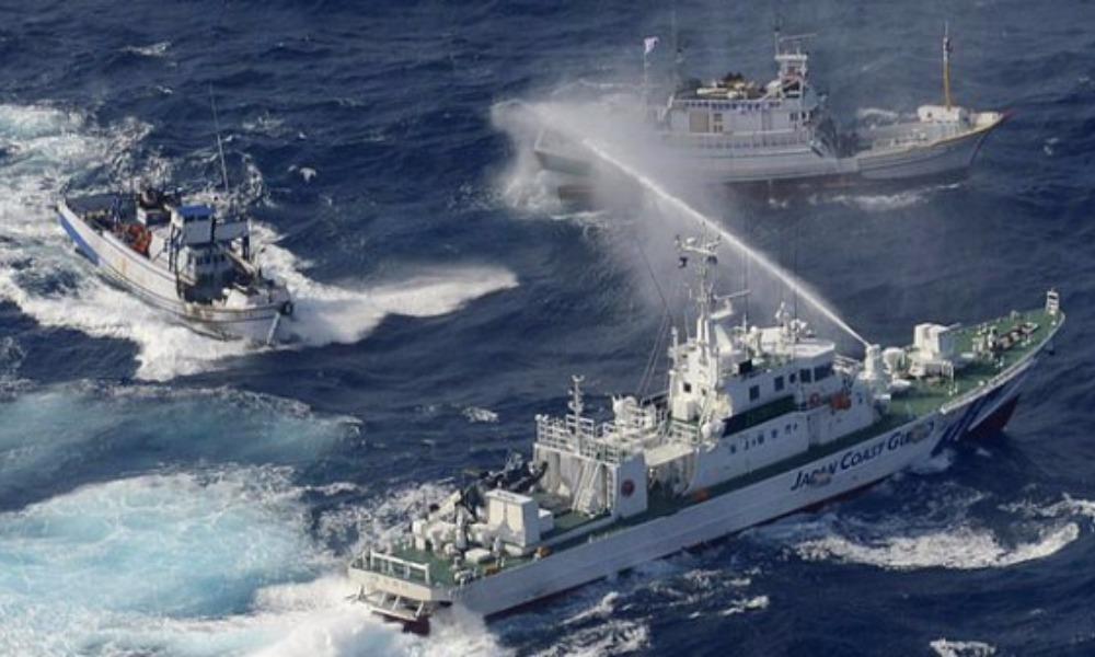 Япония выразила недовольство приближением к своей границе кораблей России и Китая