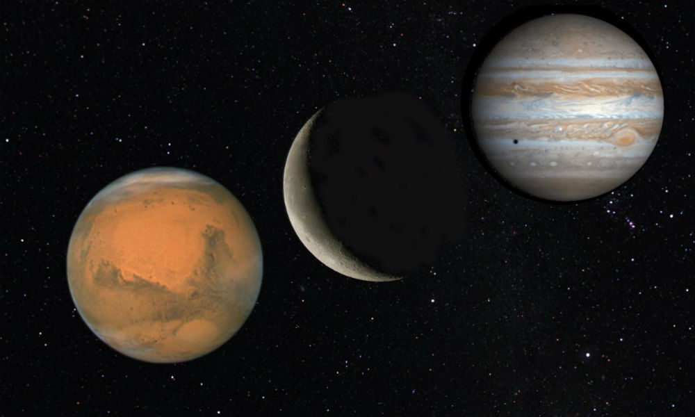 Ученые рассказали о существовании синего снега на Марсе и юпитерских штормах