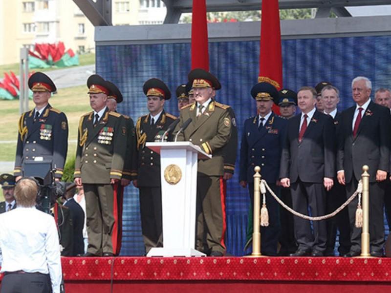Лукашенко впервые