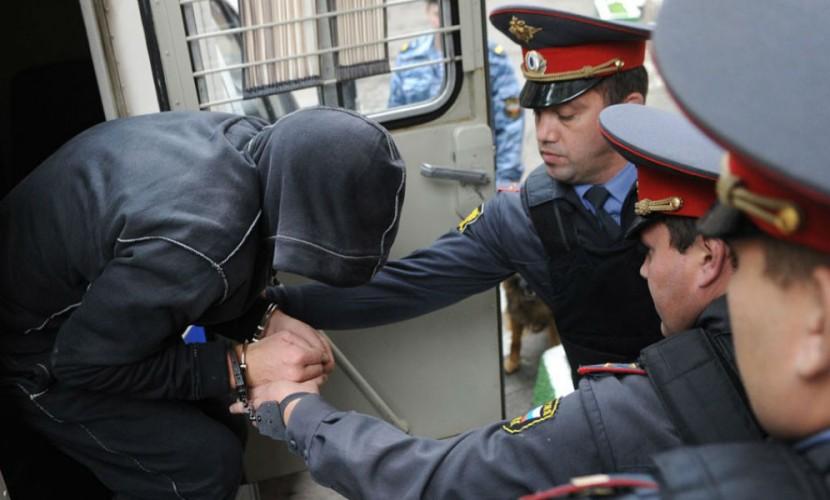 Банда грабителей подралась с полицейскими при задержании в Москве
