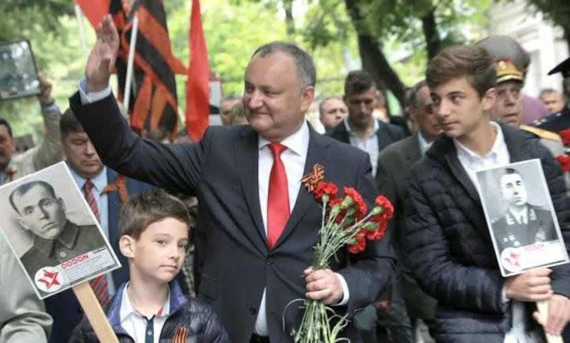 Борьбу против отмены в Молдавии Дня Победы начал лидер Партии социалистов