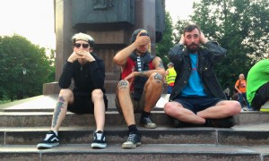 Акция против пакета Яровой в центре Москвы прошла в форме оригинальных перфомансов