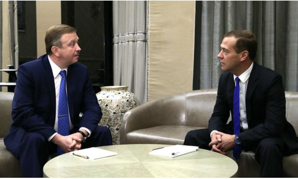 Медведев рекомендовал белорусскому коллеге Кобякову не заводить ситуацию с долгами в тупик