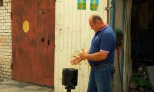 100-килограммовую пепельницу изготовил из поршня тепловоза волгоградский мужчина