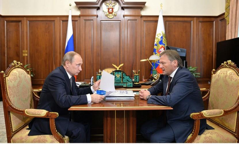 Титов пожаловался Путину на пугающую бизнес экономическую ситуацию