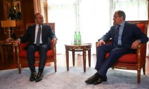 Лавров нашел точки соприкосновения с Турцией на встрече с Чавушоглу