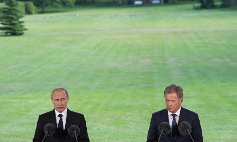 НАТО с удовольствием воевало бы с Россией до последнего финского солдата, - Путин
