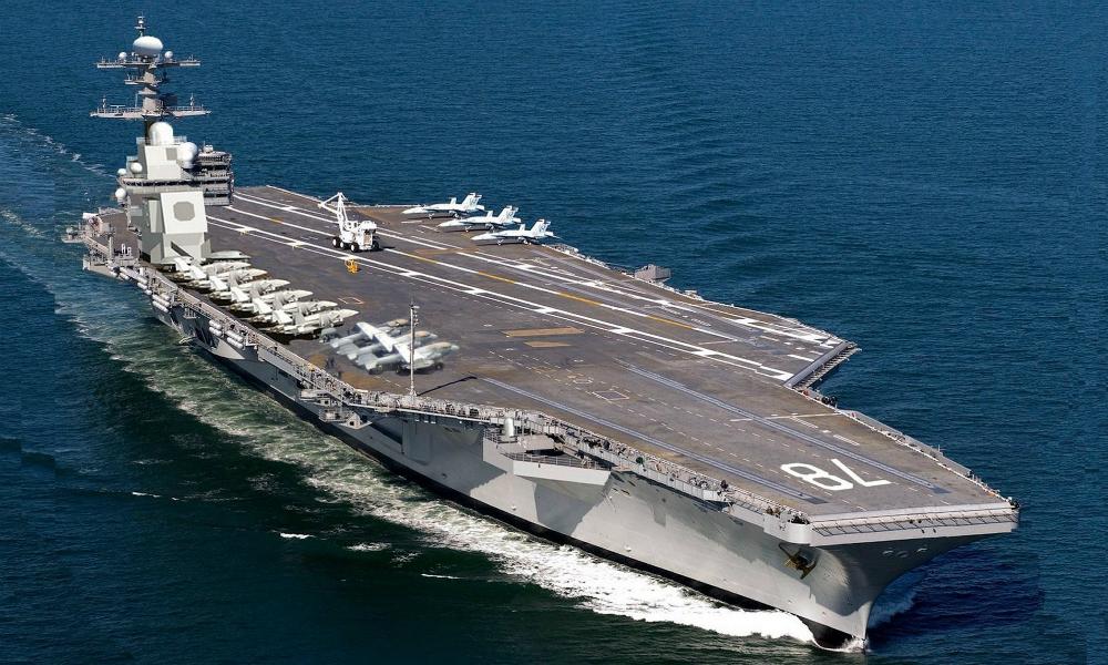 Самый дорогой в мире авианосец оказался не готовым к бою и стал позором ВМС США
