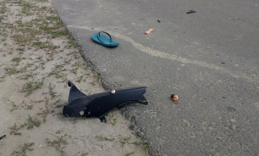 Дети кричали от боли и шока после тарана мужчиной на мотоцикле группы ребят под Брянском