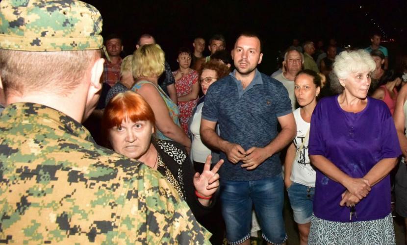 После обстрела жители Донбасса подняли бунт против перемещения украинской армии