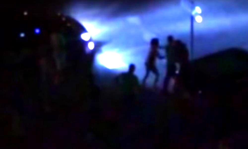 Жестокое избиение тюменцем возлюбленной завершилось массовой дракой и попало на видео