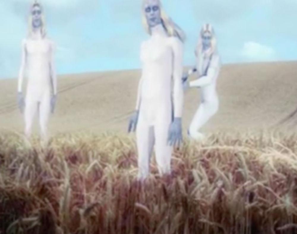 """Так, по мнению уфологов, выглядят """"нордические пришельцы""""."""