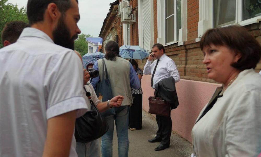 Члены комиссии СПЧ подверглись нападению в центре Ростова-на-Дону