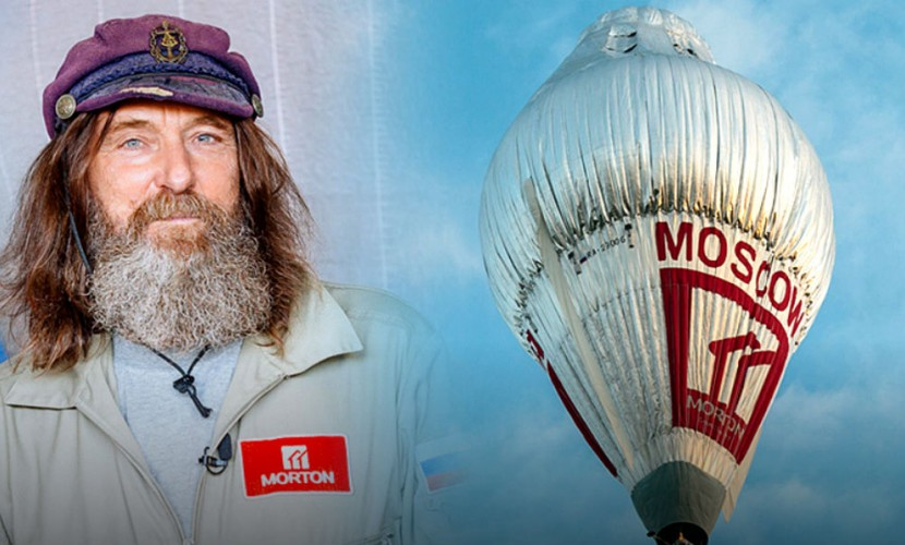 «Чудесным» полетом Федор Конюхов побил мировой рекорд кругосветки американца на воздушном шаре