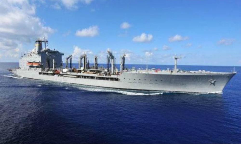 Гей-танкер решили построить для обслуживания военных кораблей США