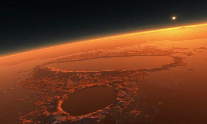 Астрономы сообщили, что овраги наКрасной планете появились без помощи воды
