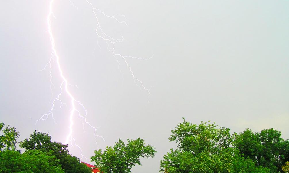 Молния убила одного и ранила четверых отдыхающих на реке Клязьма в Подмосковье
