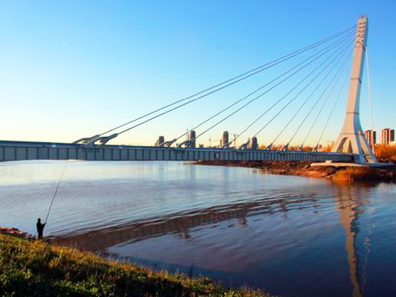 Молодой житель Псковской области утонул под мостом Кадырова в Санкт-Петербурге