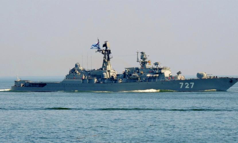 США обеспокоены поведением боевого корабля ВМСРФ вСредиземном море— Пентагон