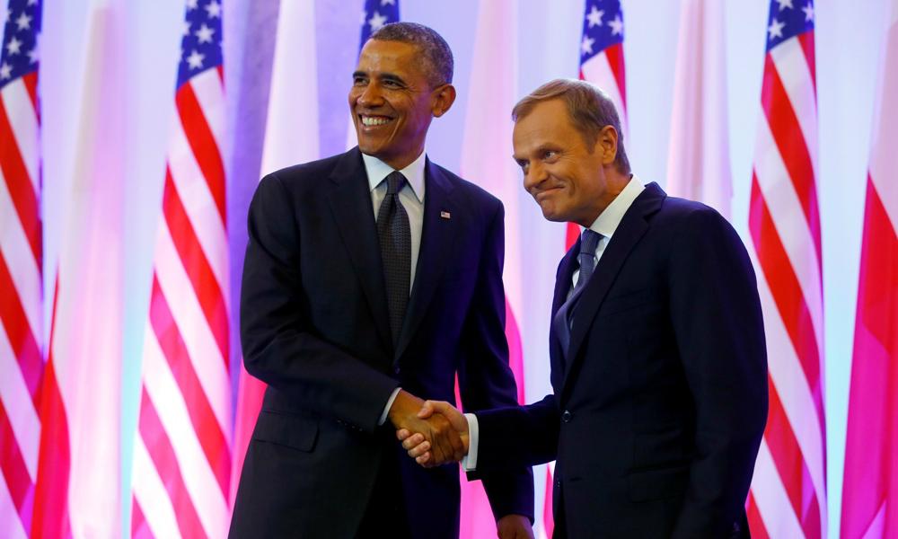 Обама сговорился с Юнкером и Туском до последнего бороться за антироссийские санкции