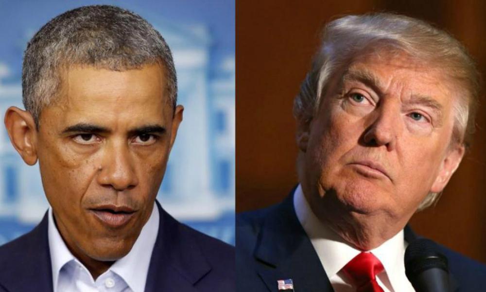 Обама заявил, что Трамп «подлизывается к Путину»