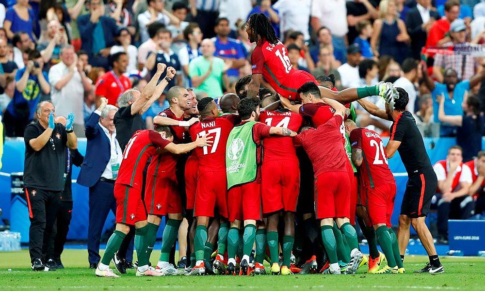 Португальцы в матче с французами выстояли почти 100 минут без Роналду и завоевали