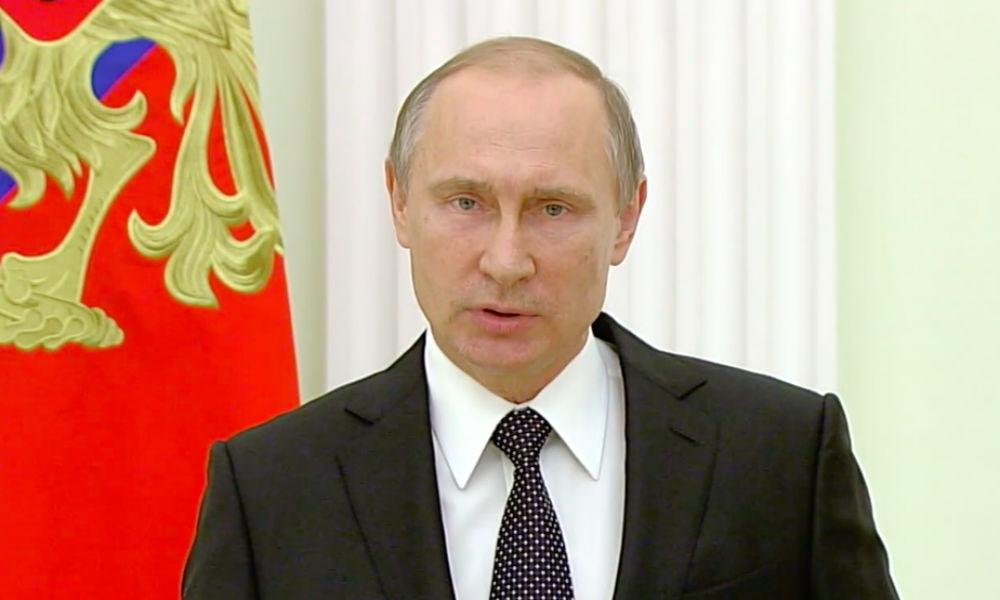 Опубликовано видео обращения Путина к народу Франции и Олланду после теракта в Ницце