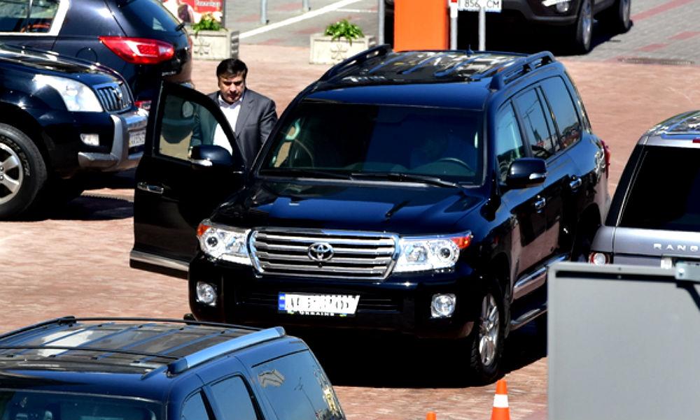 Бронированный джип Саакашвили угнал вор в законе