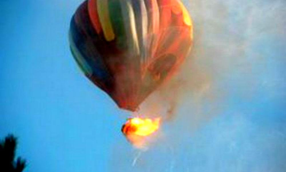 Горящий воздушный шар с 16 людьми потерпел катастрофу в Техасе
