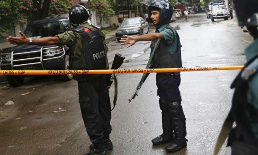 Активный штурм в дипломатическом квартале привел к взрыву ресторана и освобождению заложников