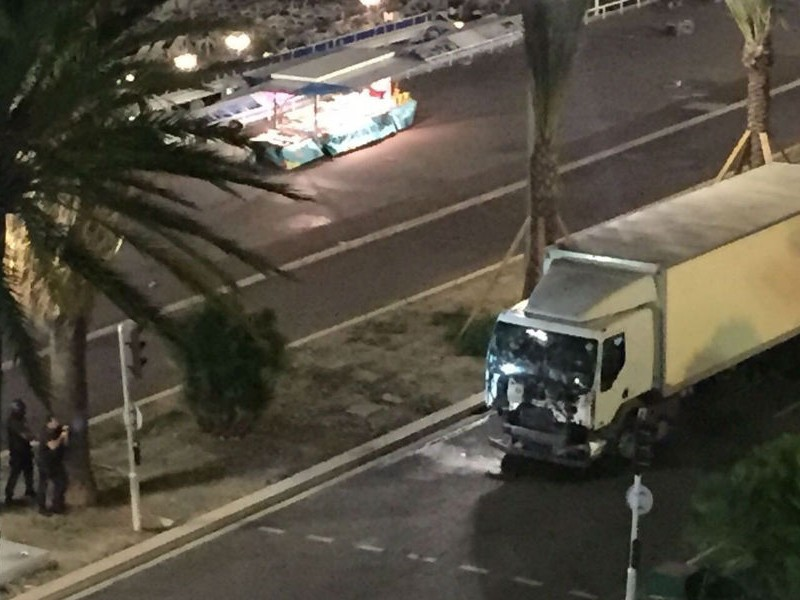 Один из террористов ликвидирован полицейскими в Ницце