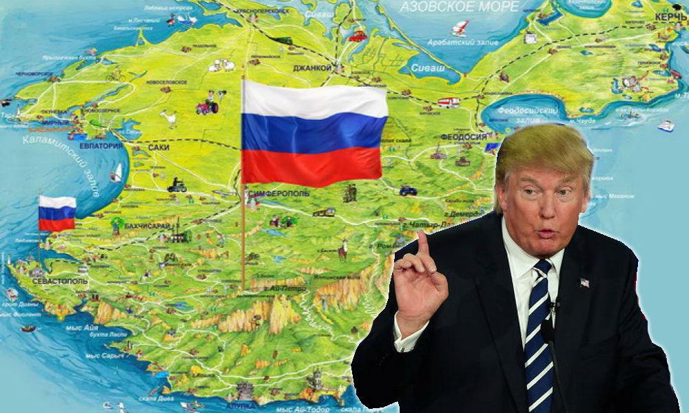 Трамп сделал сенсационное заявление о готовности признать Крым российским после избрания президентом