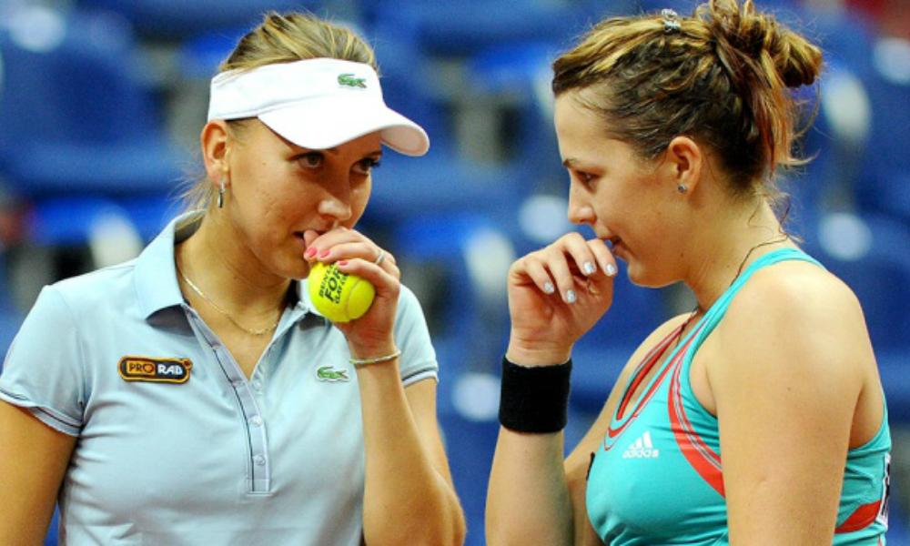Две российские теннисистки впервые за 7 лет вышли в четвертьфинал Уимблдона